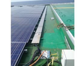 INSTALLATION SUPPORT, ELECTRIC CABINET AND SOLAR SHELF